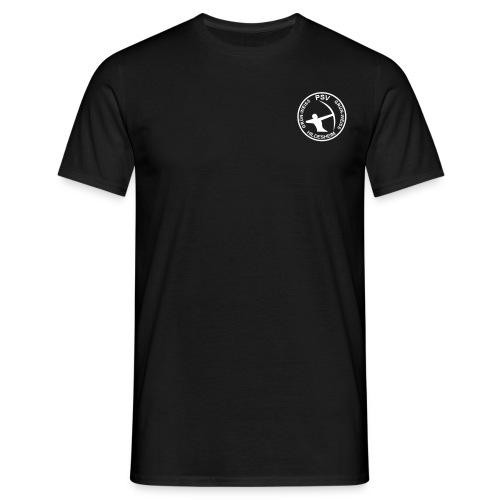 PSV Bogensport Logo rund - Männer T-Shirt