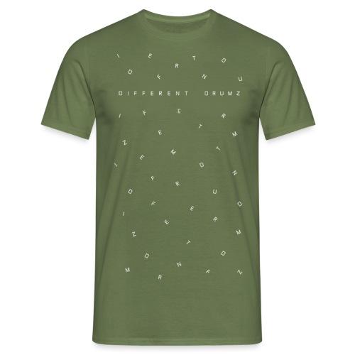 Different Drumz Letters 2 - Men's T-Shirt