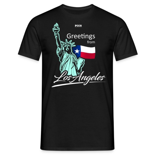 Greetings from Los Angeles - Männer T-Shirt
