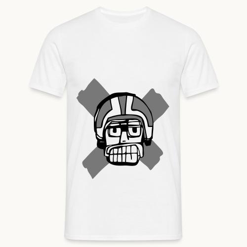 Motard Junior - BlackAndWhite - T-shirt Homme