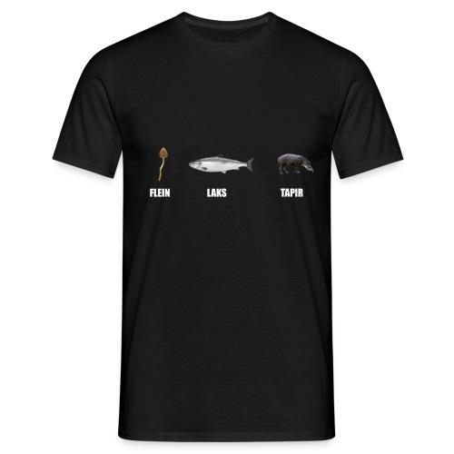 flenlakstapir png - T-skjorte for menn