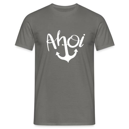 Ahoi Anker Geschenk - Männer T-Shirt