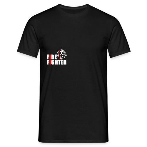 Fire Fighter Skull Emblem - Männer T-Shirt