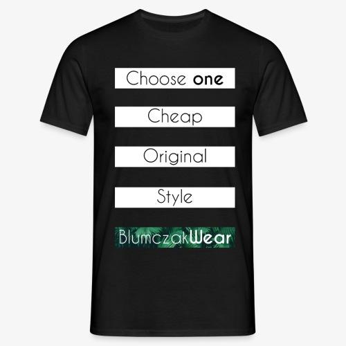 Choose one... - Koszulka męska