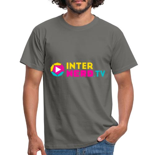 internerd.TV + Logo - Männer T-Shirt