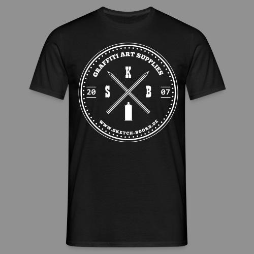Sketch Books Logo - Männer T-Shirt