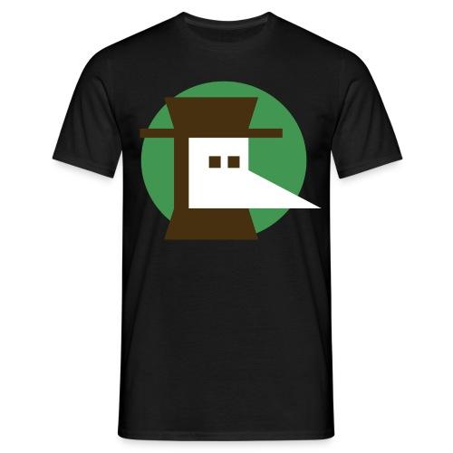 Nota bene marron vert png - T-shirt Homme