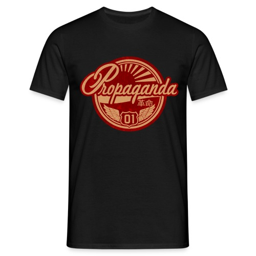 PROPAGANDA 01 RED - Men's T-Shirt