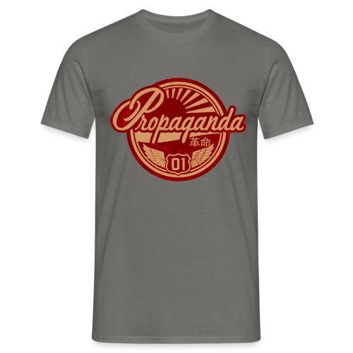 PROPAGANDA 01 RED - Men's T-Shirt