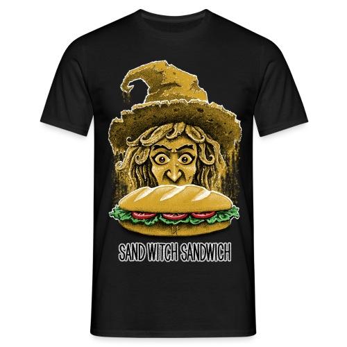 Sand Witch Sandwich V1 - Men's T-Shirt