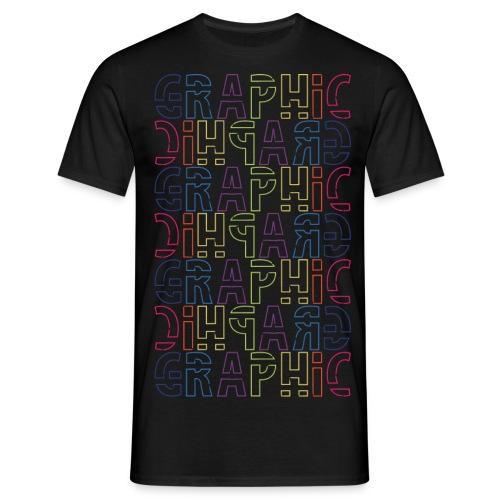 graficzny - Koszulka męska