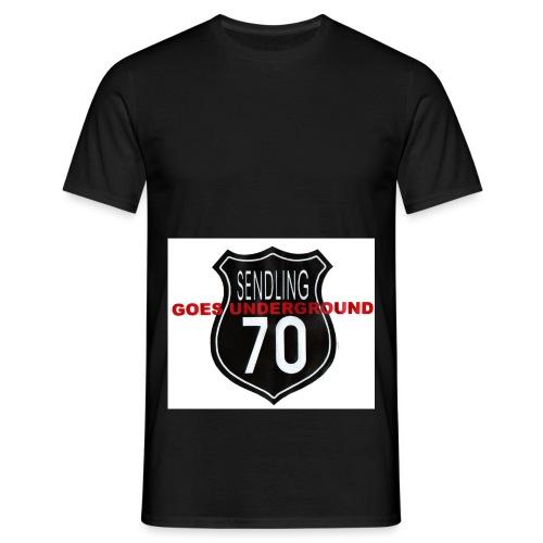 s70goes underground - Männer T-Shirt