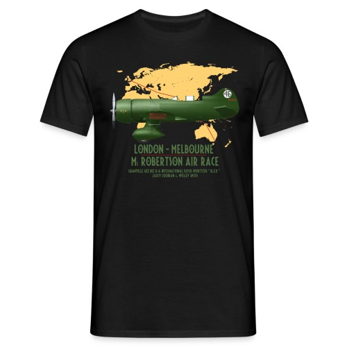 Gee Bee QED McRobertson race London-Melbourne 1934 - Men's T-Shirt