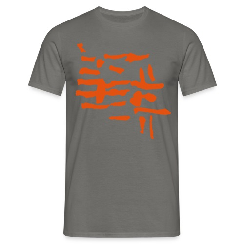 Structure / VINTAGE abstract - Men's T-Shirt
