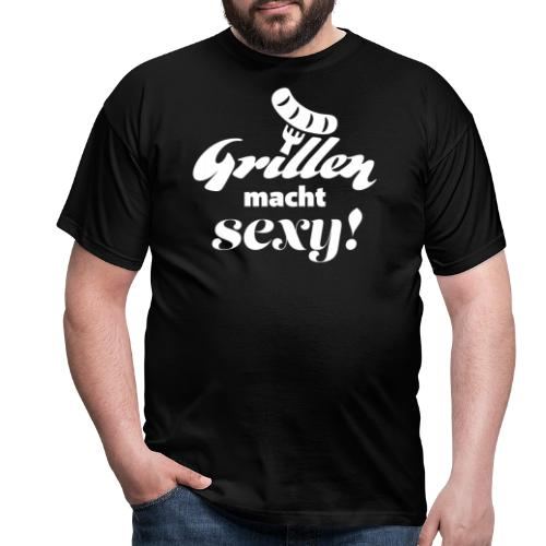 Grillen Geschenk für Männer T-Shirt Schürze - Männer T-Shirt