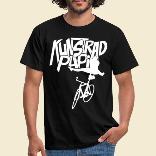 Kunstrad | Artistic Cycling - Kunstrad Papi white - Männer T-Shirt