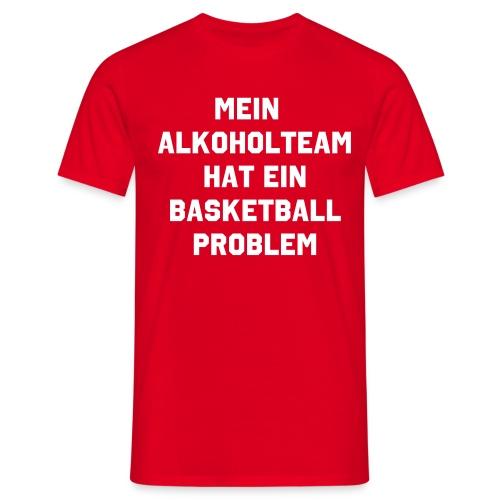 Alkoholteam - Männer T-Shirt