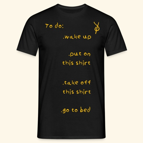 shieke to do-list - Men's T-Shirt