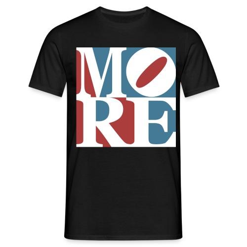 Morewood LOVE jpg - Männer T-Shirt
