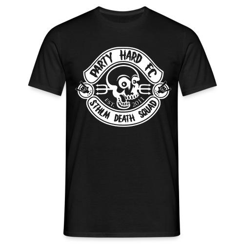 PHFC Logo vit - T-shirt herr