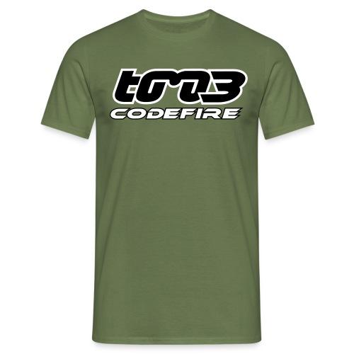 tm3codefire Logo plain Vektor - Männer T-Shirt
