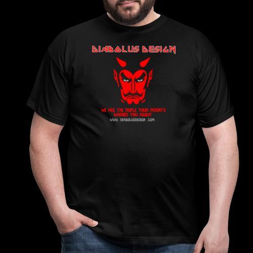 Design Ol Diabolus Head - Men's T-Shirt
