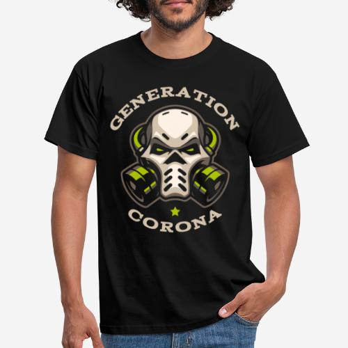 corona generation covid - Männer T-Shirt