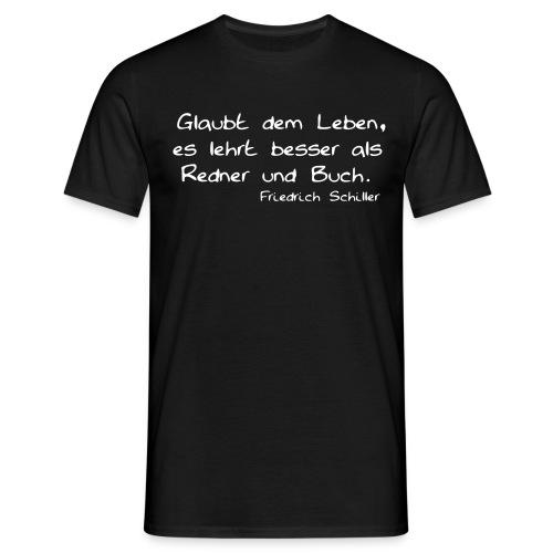 schiller - Männer T-Shirt