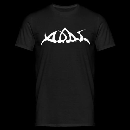 adas logo white - Männer T-Shirt