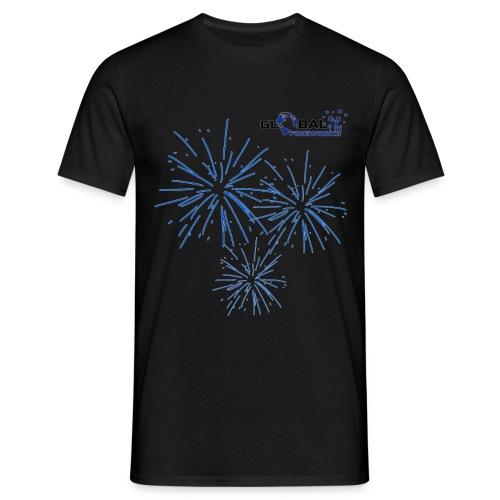 Global Fireworks Pyro - Männer T-Shirt