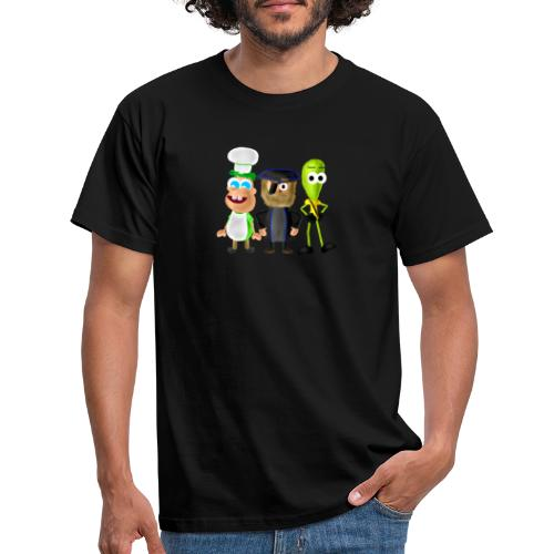 BombStory - Main Characters - Men's T-Shirt