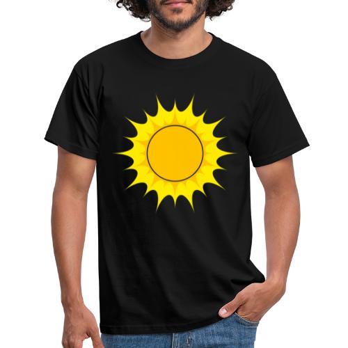 Sun / Sonne - Männer T-Shirt