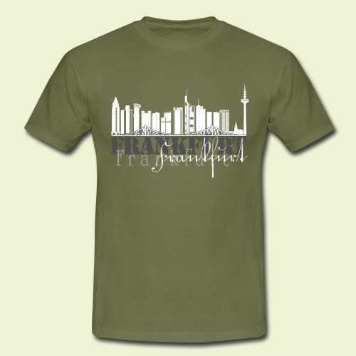 FFM - Frankfurt Skyline - Männer T-Shirt