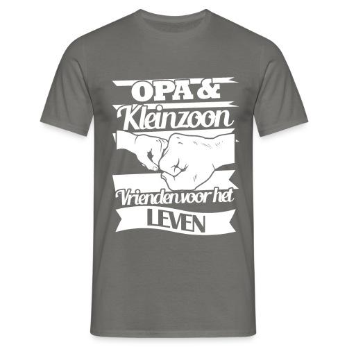 Opa kleinzoon vrienden voor het leven Vaderdagtip - Mannen T-shirt