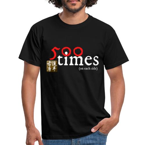 500 repetitions - Men's T-Shirt