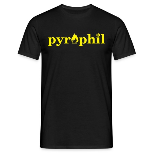 pyrophil - Männer T-Shirt