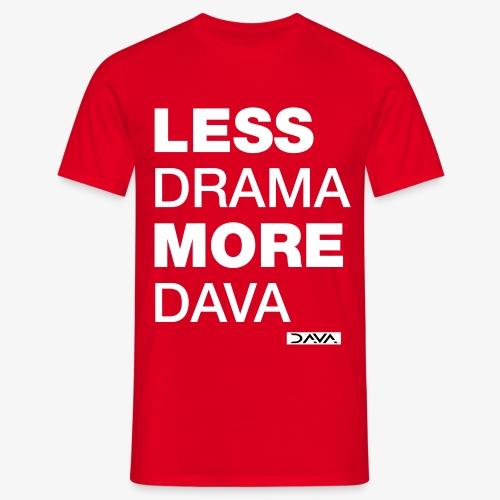 More DAVA - white - Men's T-Shirt