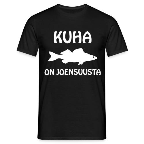 KUHA ON JOENSUUSTA - Miesten t-paita
