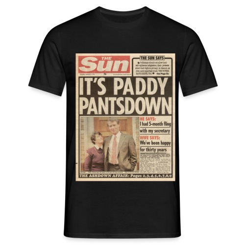 It s Paddy Pantsdown FP C - Men's T-Shirt