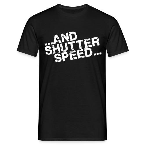 and shutterspeed - T-skjorte for menn