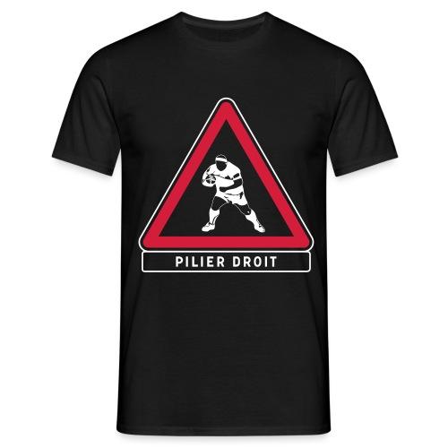 pilier_droit_FREE - T-shirt Homme