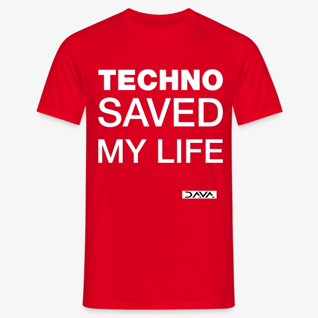 Techno Saves lives - white