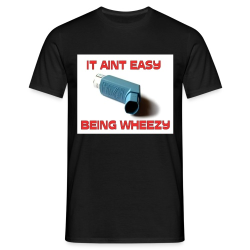 inhalerborder3 - Men's T-Shirt