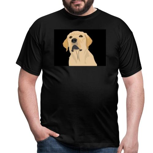 hund labrador tier liebe dog - Männer T-Shirt