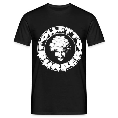 Logo bianco Folletto Burbero Metal - Maglietta da uomo