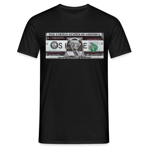 SLOPEZ x ACIDcash logo - T-skjorte for menn