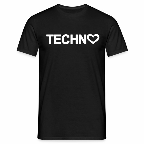 Techno Love - Männer T-Shirt