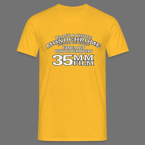 35mm (white oldstyle) - Men's T-Shirt