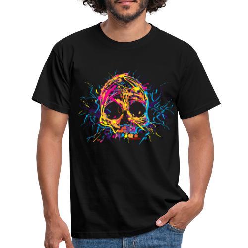 color skull - Männer T-Shirt
