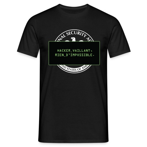 Hacker vaillant rien d impossible - T-shirt Homme